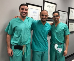 3 of Our Surgeons Enjoying a Day at The Office Together
