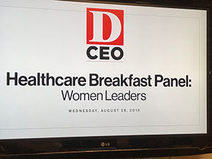 D CEO Women's Leadership Meeting in Dallas